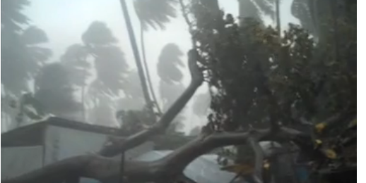 Hurricane Thomas Hits Jacmel