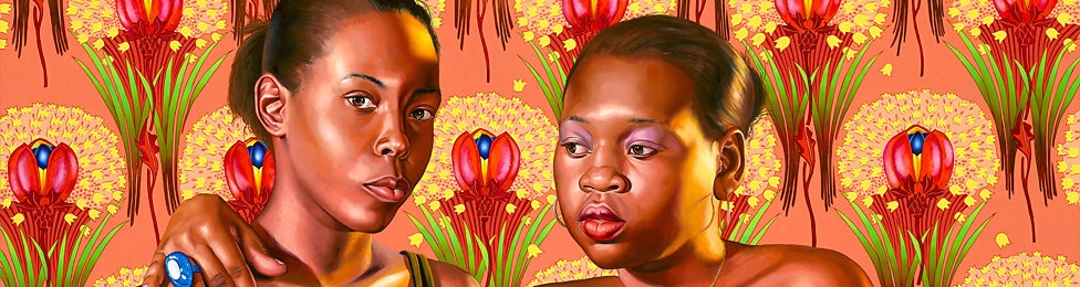 New Benefit Print by painter Kehinde Wiley